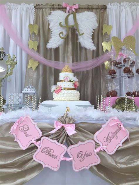 themes baptism party angel heaven baptism party ideas baptism party