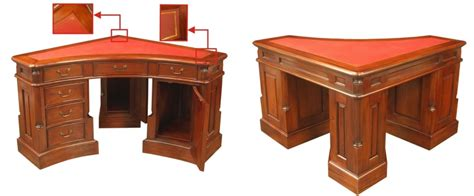 Mahogany Corner Desk Bespoke Desks And Office Furniture For Uk Delivery Akd Furniture
