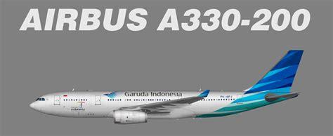 indonesia teaser garuda indonesia airbus a330 200 juergen s paint hangar
