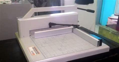 Mesin Pemotong Kertas Listrik mesin potong kertas 1 satu origin xt 500