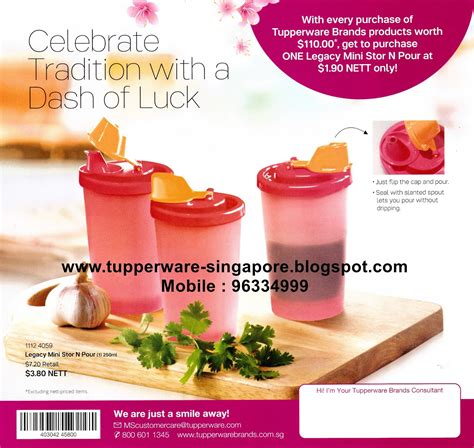 Mini Stor N Pour Tupperware buy tupperware in singapore special purchases valid till