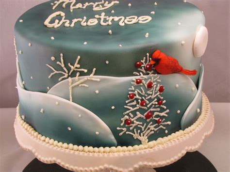 tj happy cakes cardinal christmas cake