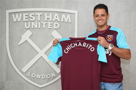 Jersey Hammers Esports javier hernandez completes transfer to west ham united
