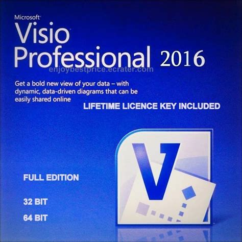 visio 32 bit microsoft visio professional 2016 32 64 bit lifetime key