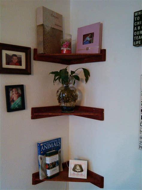 living room corner shelf pallet living room corner shelves pallet furniture diy