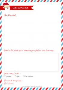 Modeles De Lettre Au Pere Noel A Imprimer Lettre Au P 232 Re No 235 L 224 Imprimer Momes Net