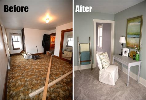 before and after bedrooms bedroom before and after at the flip house living rich