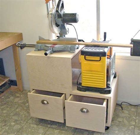 Miter Saw Cabinet by Shed Plan Guide To Get Woodworking Miter Saw Stand
