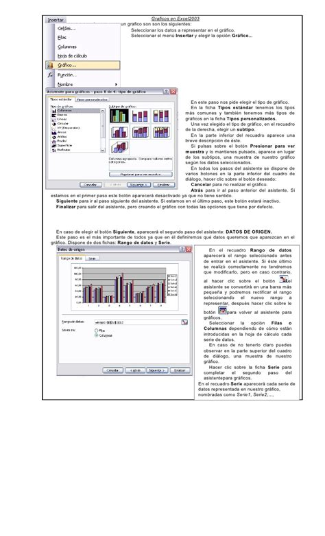 tutorial excel graficos 2007 tutorial de graficos en excel2003