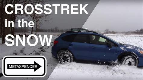 Subaru Crosstrek Snow by Subaru Crosstrek In The Snow 2016
