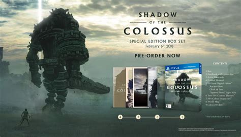 Ps4 World Steelbook Edition Reg 2 shadow of the colossus special edition and ps4 pro