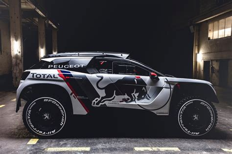 peugeot dakar race car peugeot 3008 dkr revealed for dakar rally