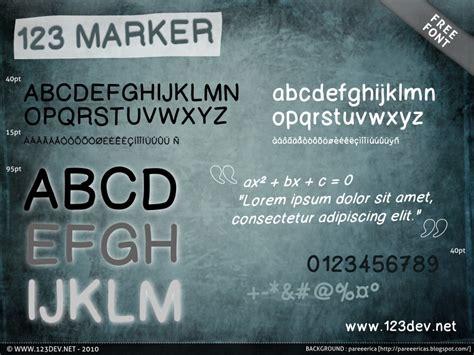 dafont olivier 123 marker font dafont com