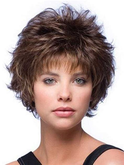 full volume curls hairstyle short hairstyles short layered hairstyles for women 2016