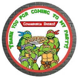 tmnt ninja turtles gift tags partyexpressinvitations