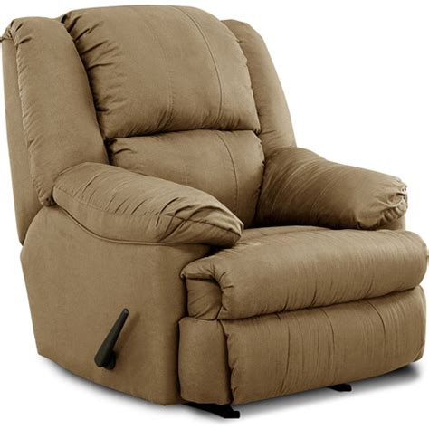walmart rocker recliner simmons microfiber rocker recliner furniture walmart com