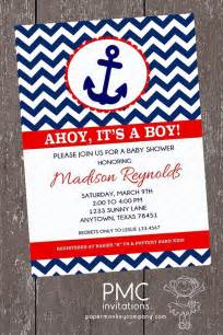 nautical baby shower invitations templates christmanista