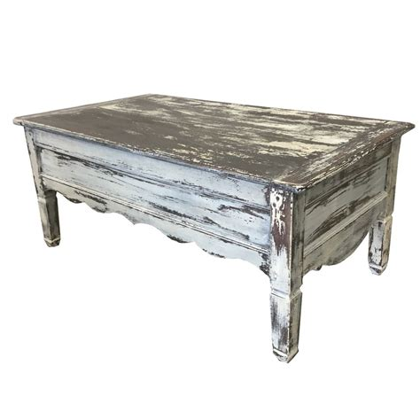 French Country Antique Painted Coffee Table Ebay Coffee Tables On Ebay