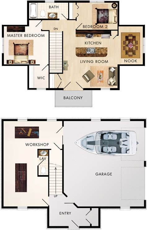 garage homes floor plans garage with upstairs apartment maybe sauna in back of
