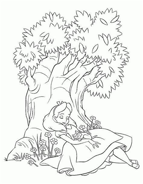 Dibujos de Alicia en el pais de las maravillas para