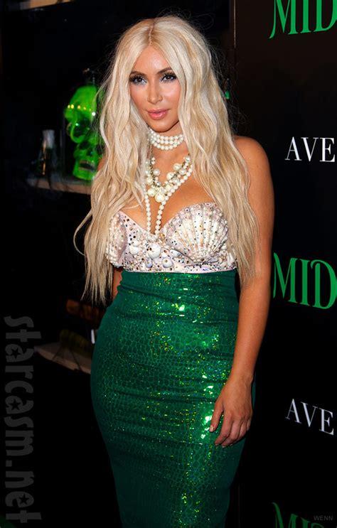 Dress Midora photos in a mermaid costume