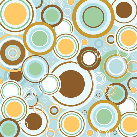 pattern vintage free vector retro circles vector pattern vector art graphics