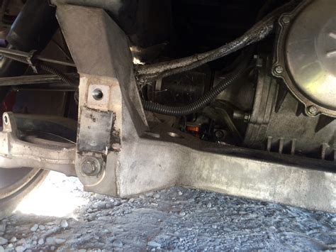 rear suspension application approval request rear suspension part identification request