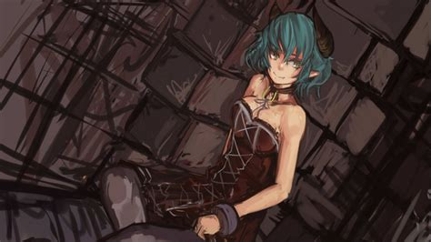anime demon girl with short hair juniper s knot fiend wallpaper 1080p from shadow of