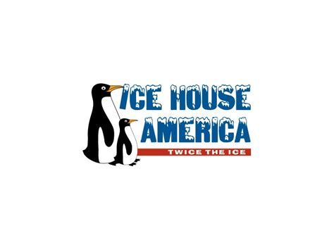 ice house america logo design for moultrie ga based ice house america