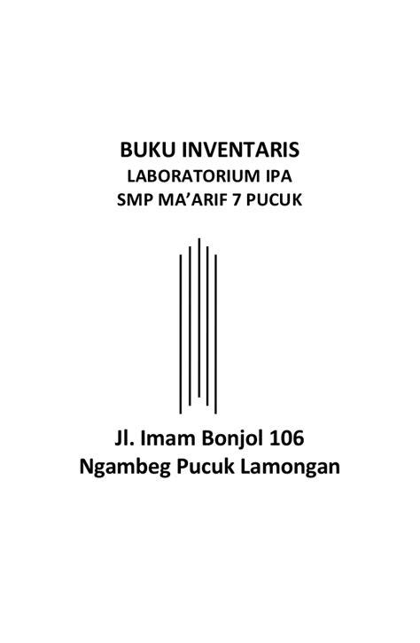 Buku Smp Jl 1 buku inventaris lab ipa
