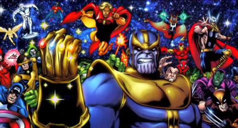 Thanos And The Infinity Gauntlet Guardians Of The Galaxy Easter Eggs And References Page 2