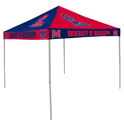Tailgate Canopy Ole Miss Rebels Ncaa College Canopy Tailgate Tent Pinwheel