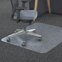 Floor Mats Chairs Carpet Lorell 02358 Polycarbonate Chair Mat Floor Carpeted