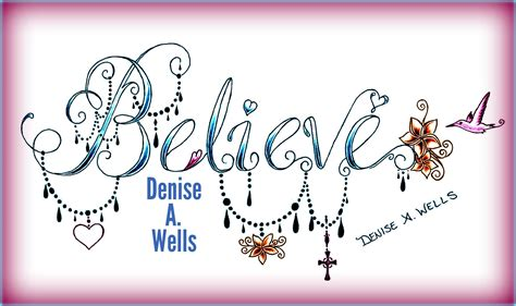 tattoo fonts girly new believe design by a including