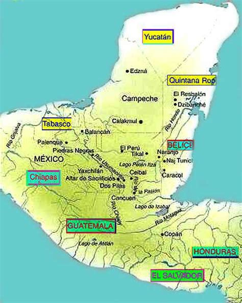 imagenes de los mayas ubicacion mayas ubicaci 243 n geogr 225 fica socialhizo