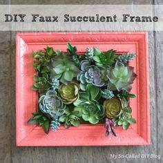 Succulent Frame My Farmscape - living succulent wreath diy v茆nce