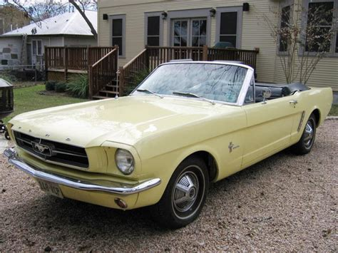 1960s mustang convertible for sale own a springtime yellow mustang convertible ford 1965
