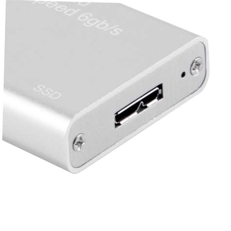 Hardisk Mini mini msata to usb 3 0 ssd disk box external enclosure with cable gu ebay