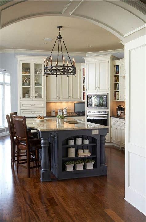 25 best ideas about blue kitchen island on transitional kitchen fixtures