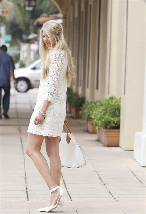 Lovely White | 16 gorgeous white dress outfit ideas for spring summer