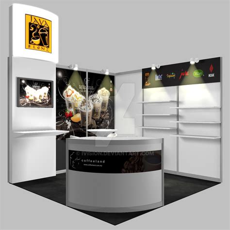 coffee booth design exhibition booth design coffee by ivision on deviantart