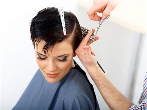hair stylist dailymotion hair hairdresser cutting woman hair in beauty salon