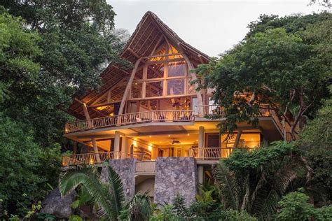 Rental Home Decorating Ideas tropical treehouse oasis overlooking the mexican jungle