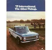 Directory Index IHC/1975 International Pickups