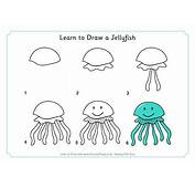 Learn To Draw A Jellyfish