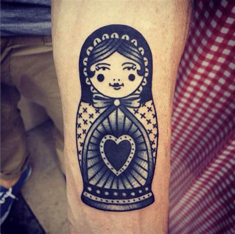 matryoshka doll tattoos inked magazine tattoo ideas