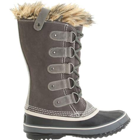 joan of arctic boot sorel joan of arctic waterproof snow boot in gray shale
