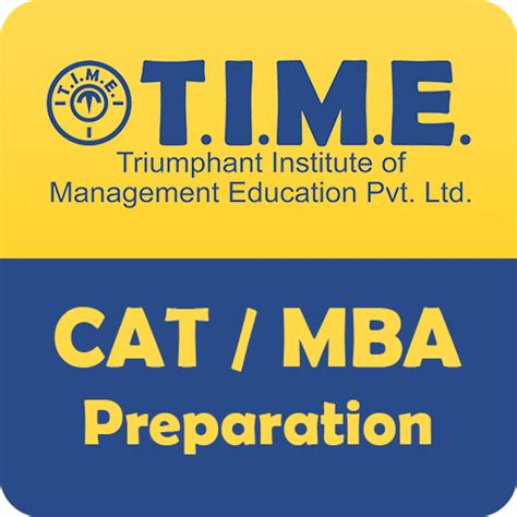 Professional Preparation Mba by Time4cat App Android Apk By Triumphant Institute Of