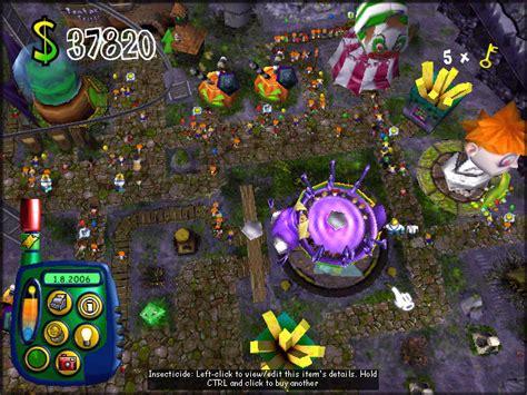 theme park bullfrog gameover sim theme park theme park worlds c ea