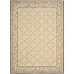 12 X 12 Area Rugs Shop Safavieh Courtyard Rectangular Transitional Indoor Outdoor Woven Area Rug Common 9